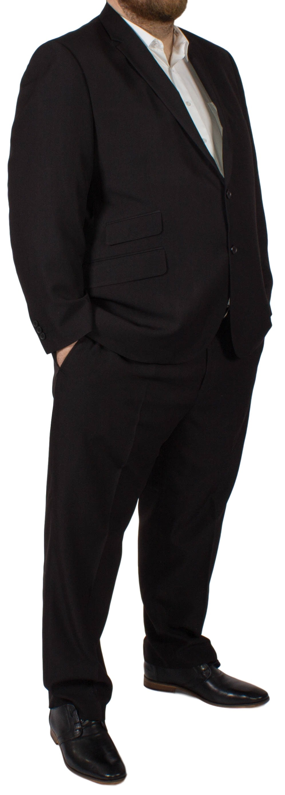 McCarthy Alberto Easy Fit Suit Black