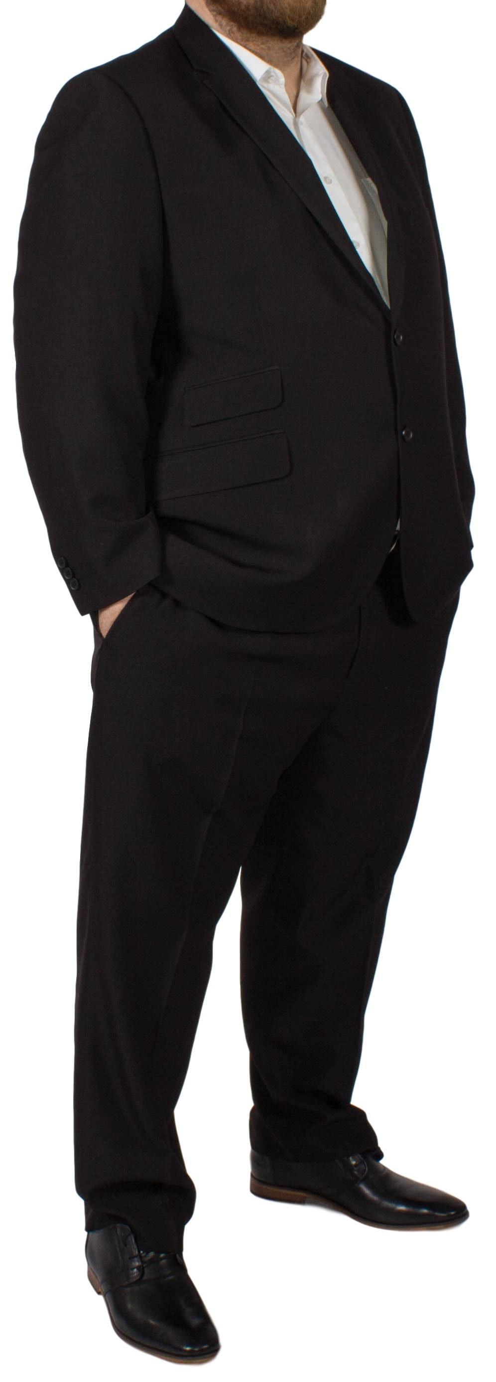 McCarthy Alberto Easy Fit Suit Black