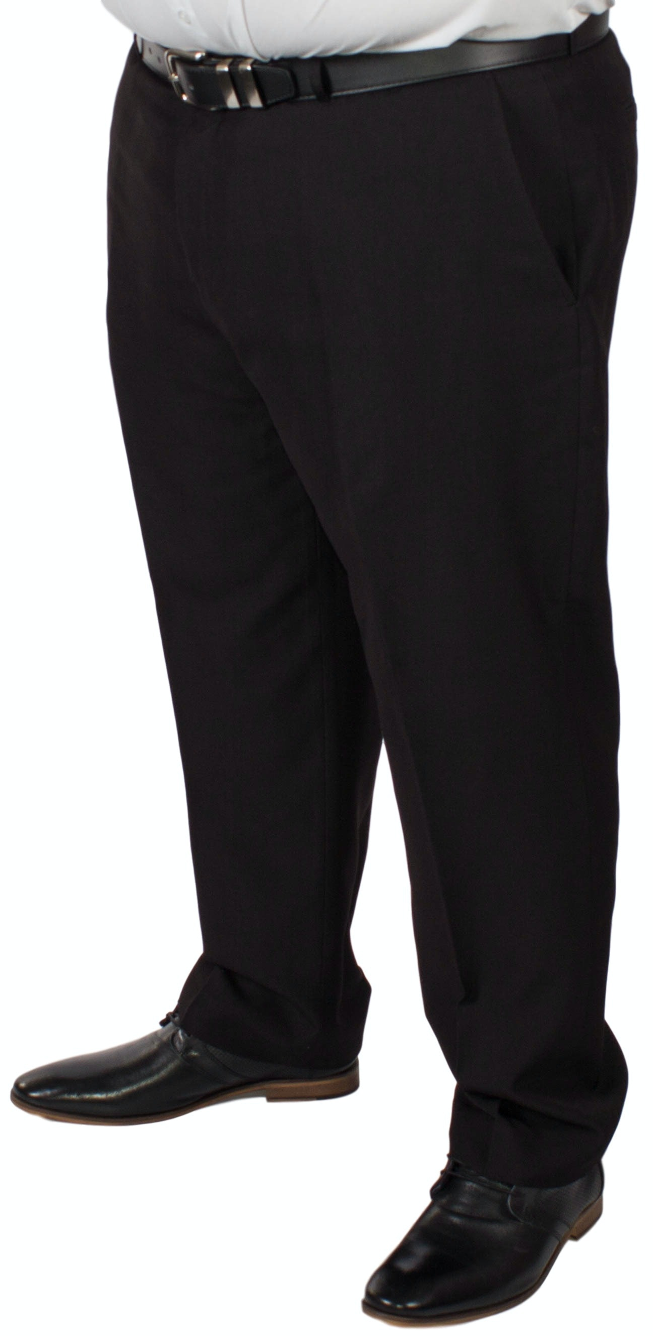 McCarthy Alberto Easy Fit Black Trousers