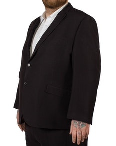 McCarthy Alberto Easy Fit Suit Jacket Black