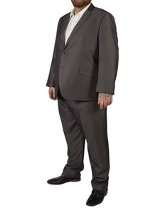 McCarthy Crisitano Easy Fit Suit  Charcoal