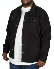 Bigdude Classic Denim Jacket Black