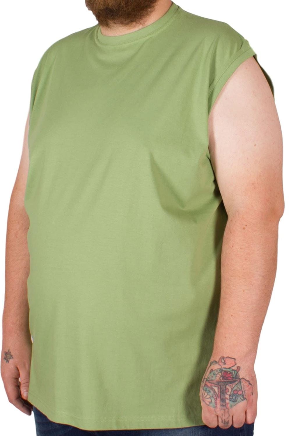Metaphor Sleeveless T-Shirt Green