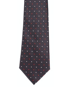 Knightsbridge Extra Long Multi Dot Tie Navy