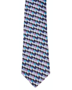 Knightsbridge Extra Long Blocks Tie Multi