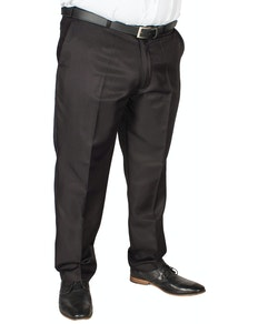 Carabou Poly Twill Classic Trousers Black