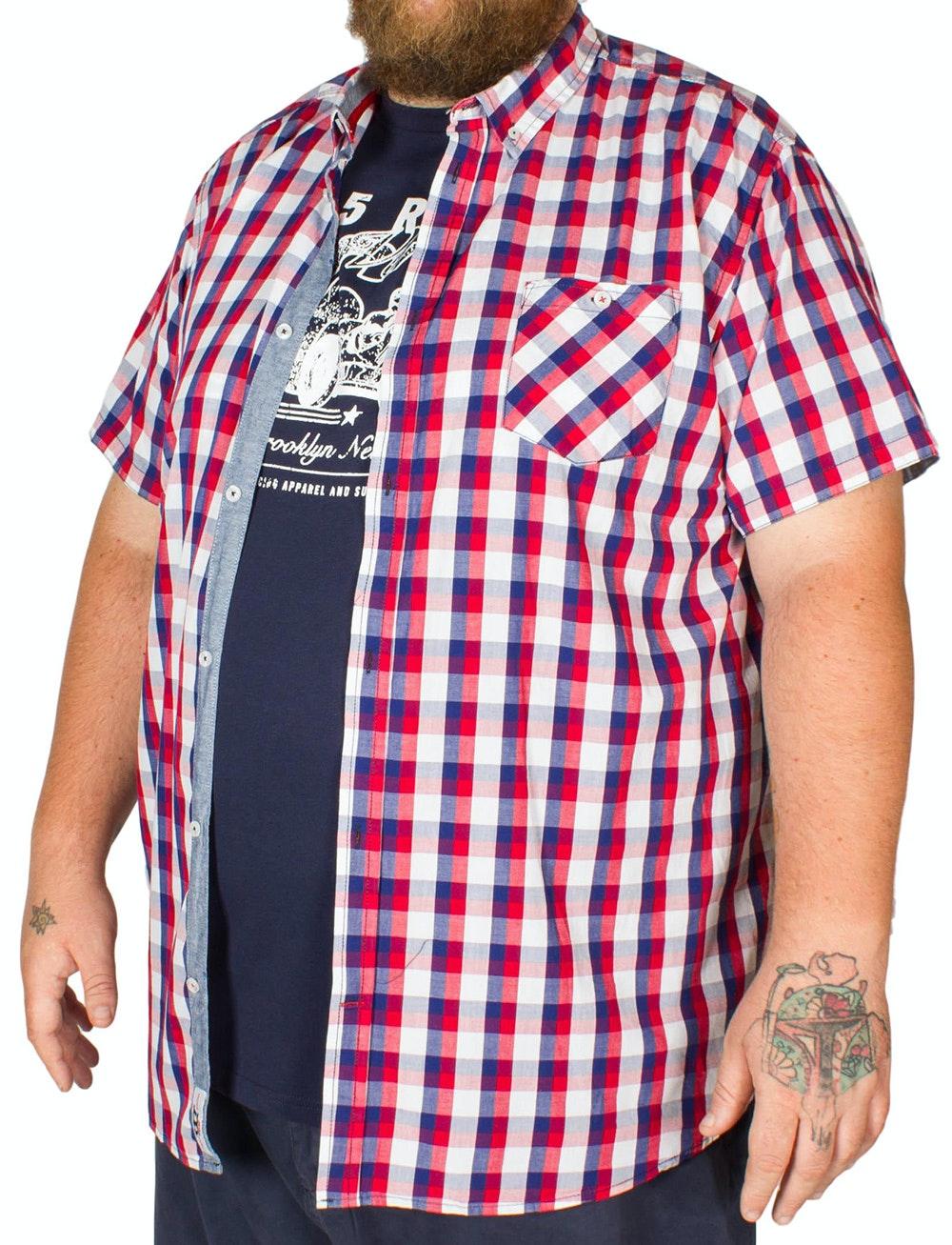 D555 Hadwin Short Sleeve Shirt & T-shirt Combo