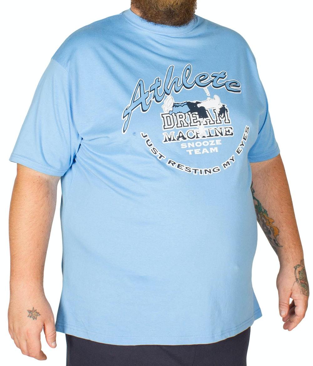 Cotton Valley Dream Machine Short Pyjama Set Blue