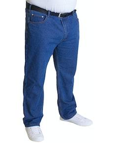 Bigdude Lightweight Jeans Mid Blue