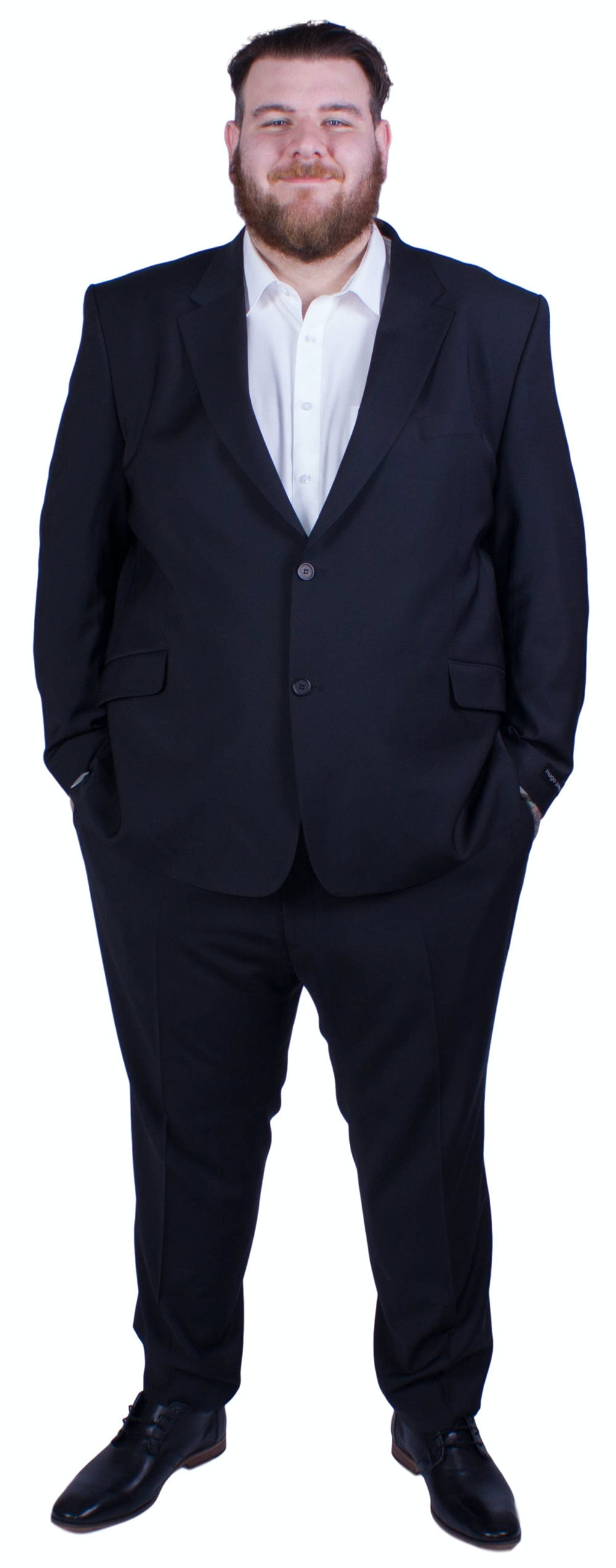 Hugo James Hazan Suit Black