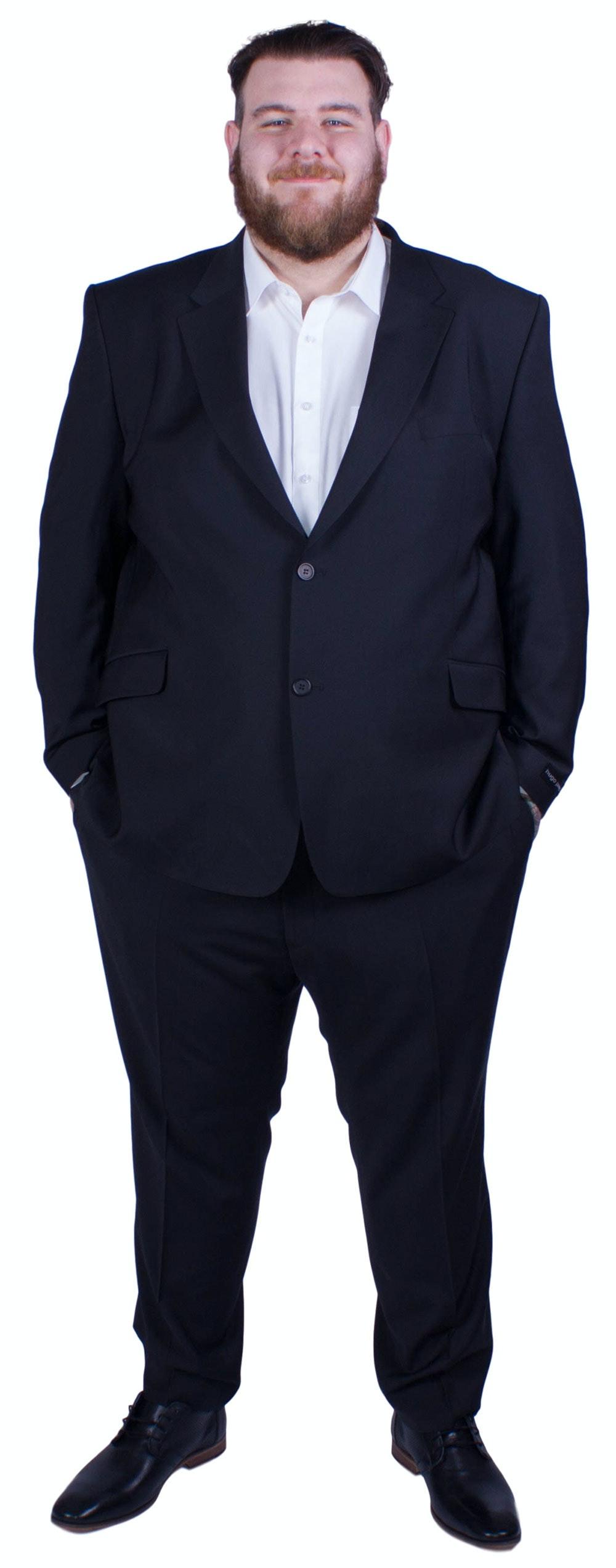 Hugo James Hazan Suit Black