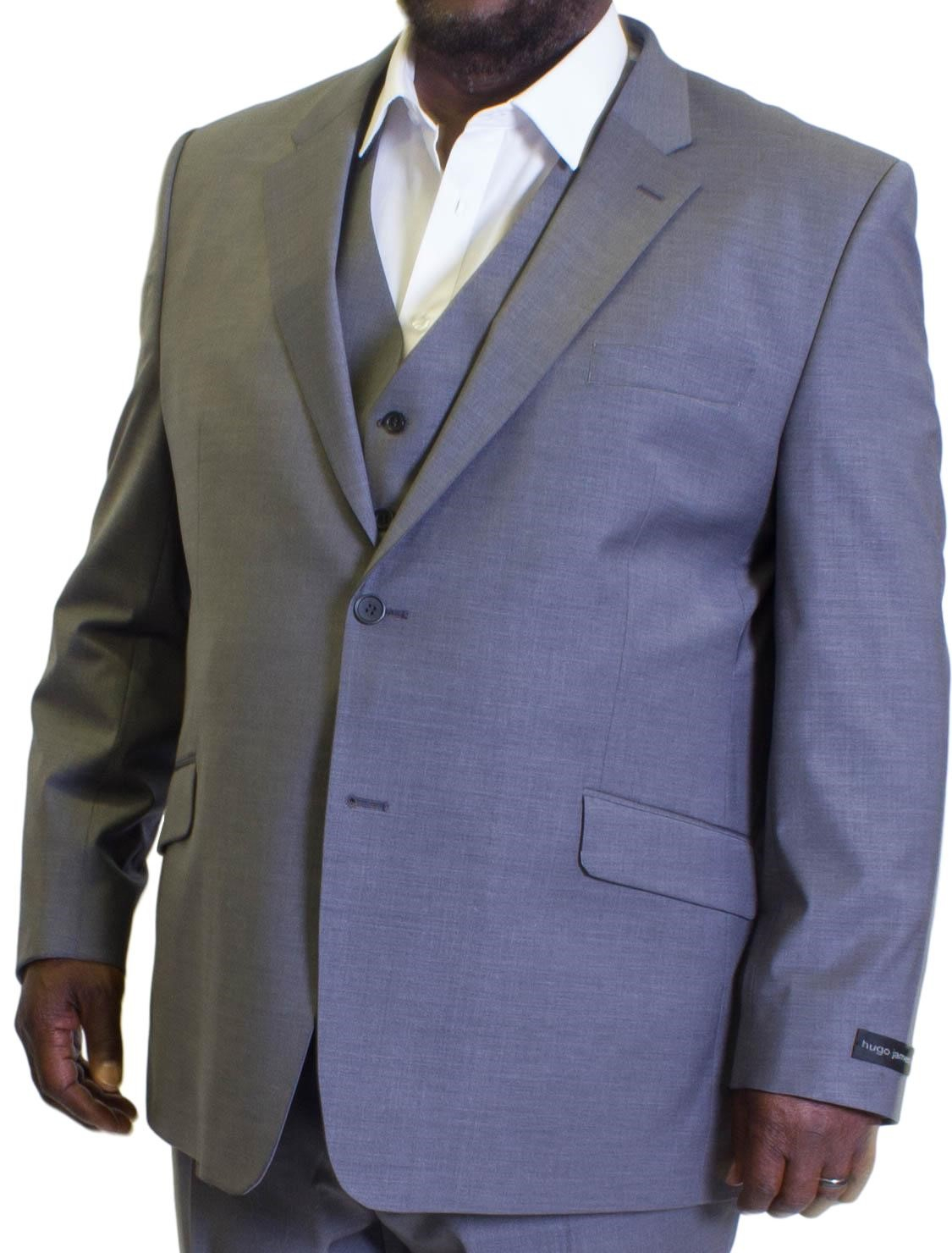 "HUGO JAMES NAVY PINSTRIPE SUIT trousers 42/""44/""46/""48/""50/""52/""54/""56/""58/""60/""62/""64/""66/"""