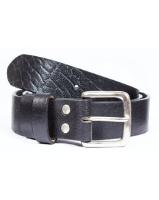 Logan Leather Heavy Duty Belt Black