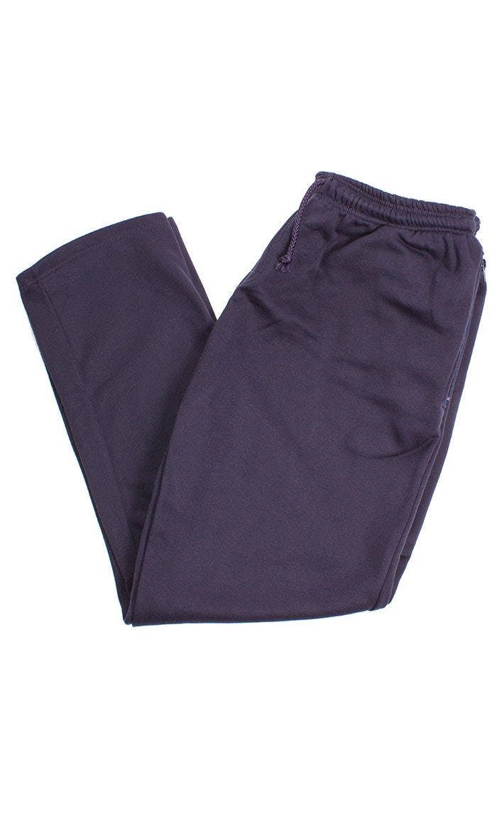 Kings Club Elasticated Navy Joggers