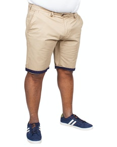 D555 Lopez Stretch Chino Shorts Stone