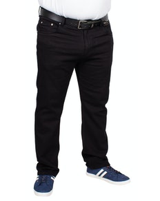 Bigdude Stretch Jeans Black