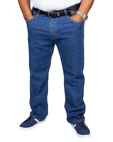 Bigdude Stretch Jeans Mid Wash Tall