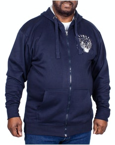 KAM Rock 'N' Roll Hoody Navy