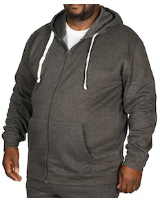 Bigdude Essentials Hoody Charcoal Marl Tall