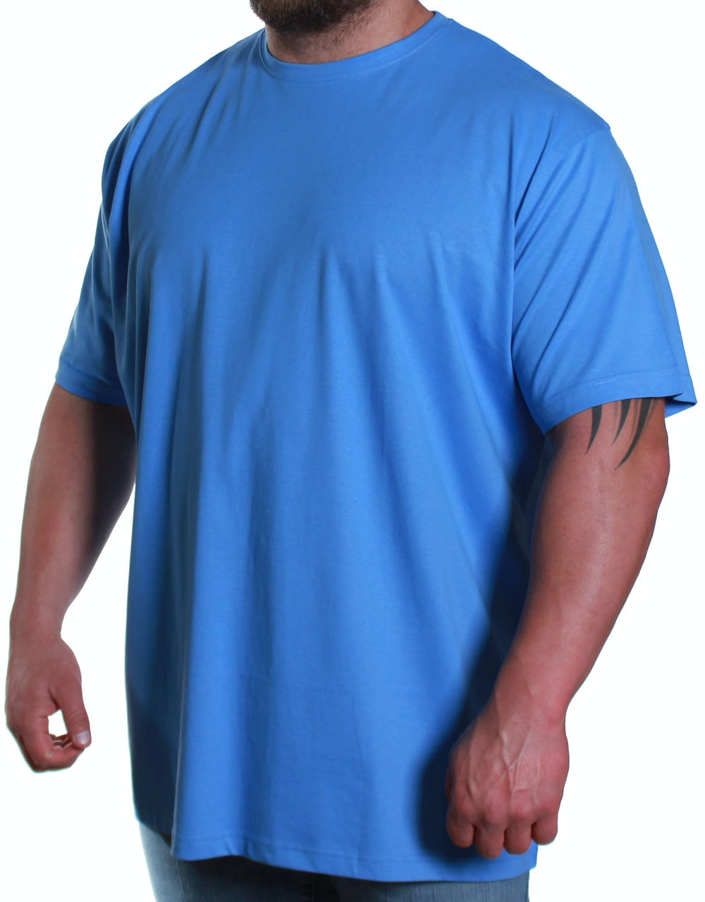 Espionage Crew Neck T-Shirt Blue