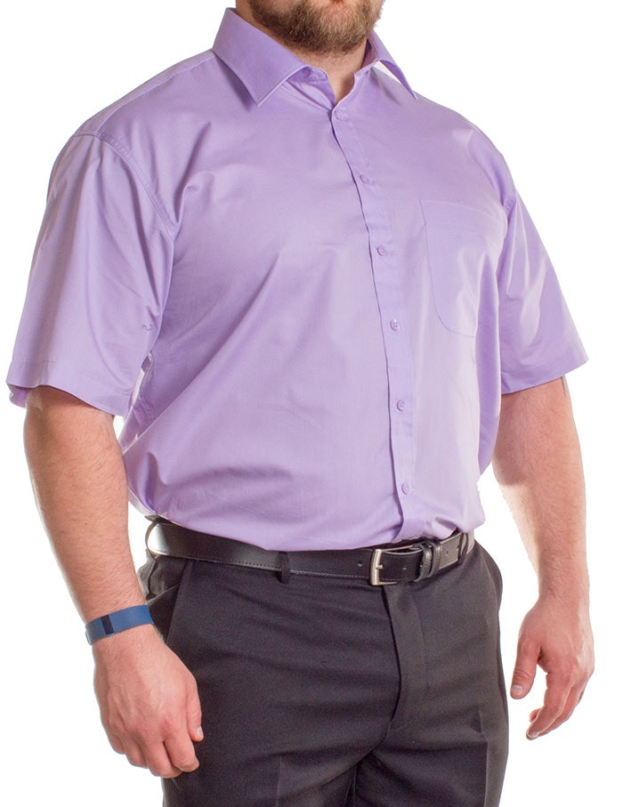 Espionage Lilac Classic Short Sleeve Shirt