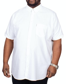 Ben Sherman Signature Oxford Short Sleeve Shirt White