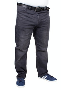 KAM Rafael Stretch Jeans Charcoal