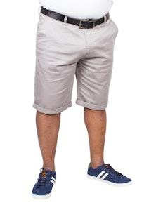 Bigdude Stretch Chino Shorts Stone