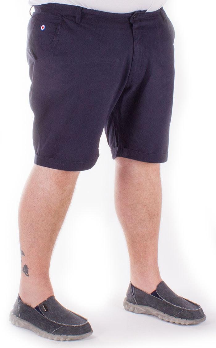 Lambretta Navy Railway Shorts
