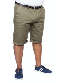 Bigdude Stretch Chino Shorts Light Khaki