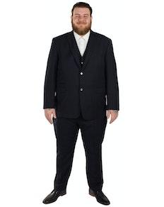 Skopes Madrid Superfine Twill  3 Piece Suit- Navy