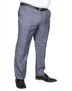 Skopes Kolding Check Trousers Blue/Grey