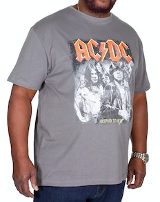 Replika Jeans AC/DC T-Shirt Charcoal