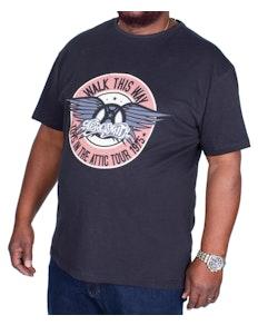 Replika Jeans Aerosmith T-shirt Black