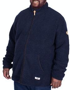 D555 Bawty Full Zip Fleece Navy