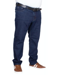 Red Point Langley Stretch Jeans Dark Blue