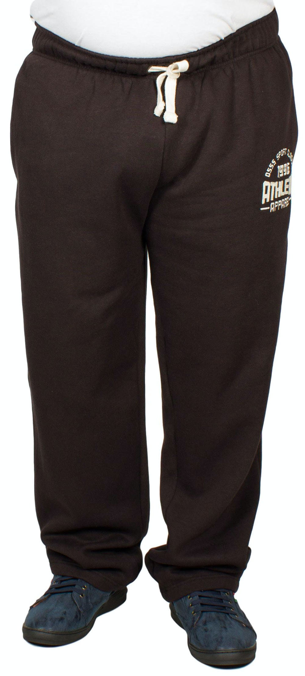 D555 Tony Embroidered Jogger Black
