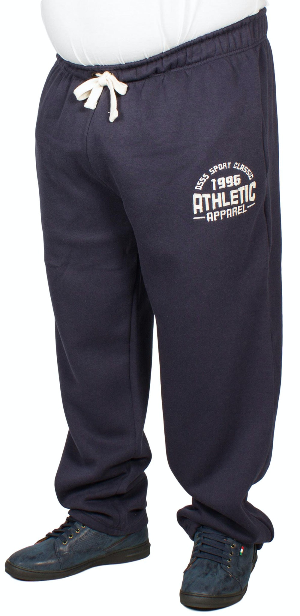 D555 Tony Embroidered Jogger Navy