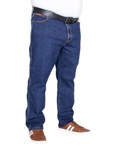 Wrangler Texas Stretch Jeans Grained Blue