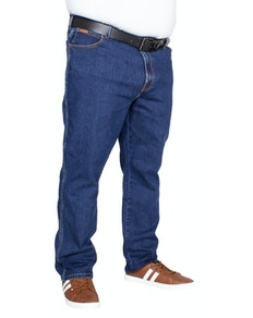 Wrangler Texas Stretch Jeans Grained Blue Tall