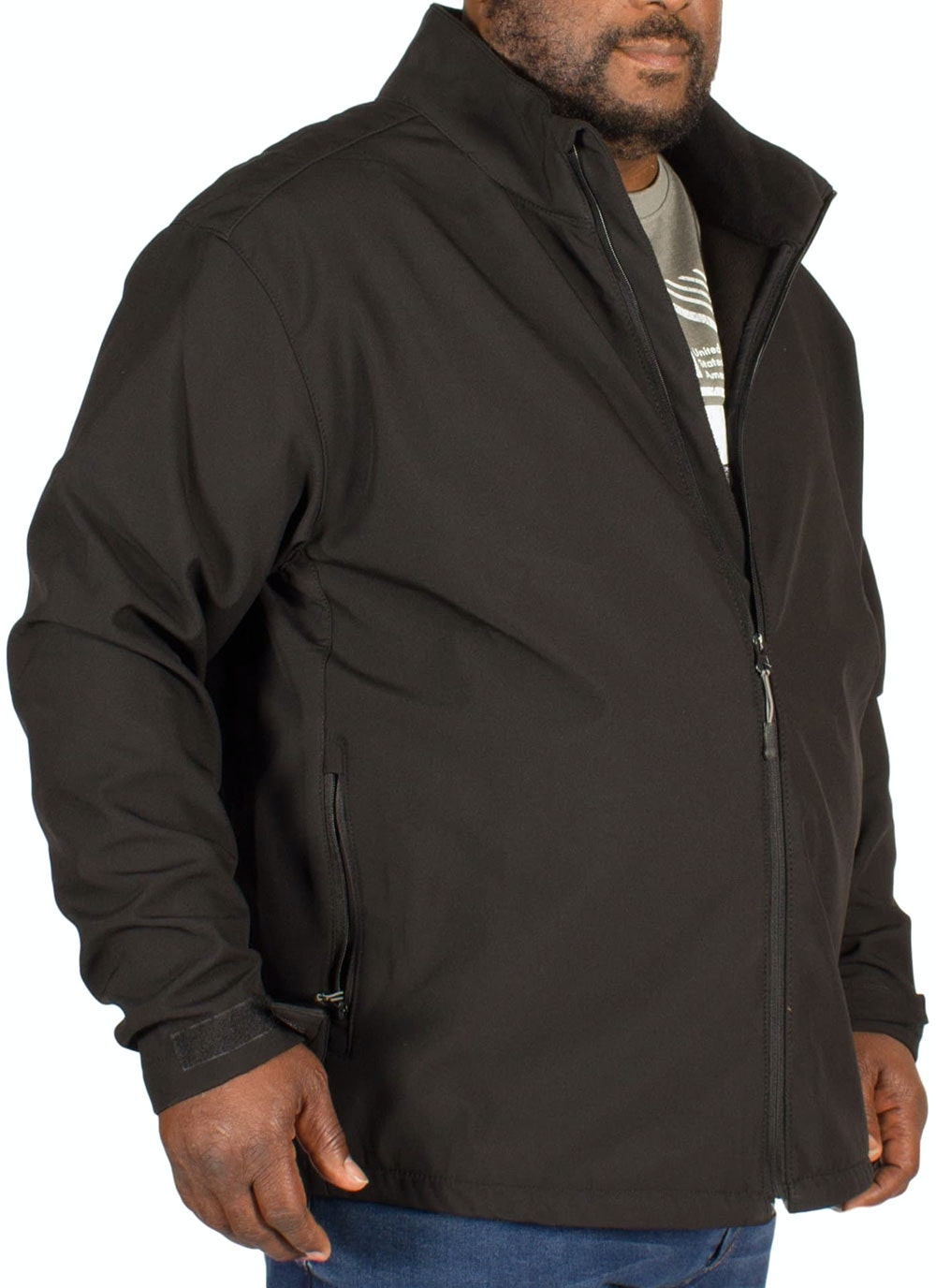 Replika North Soft Shell Jacket Black