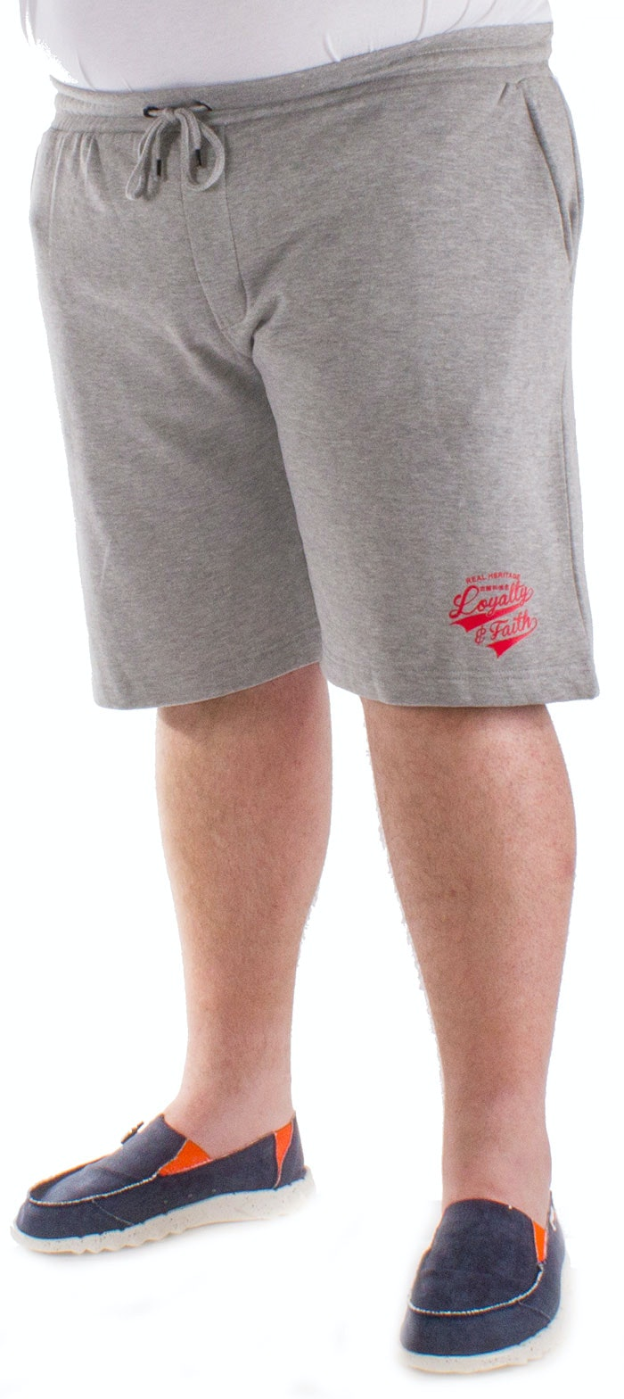 Loyalty & Faith Grey Marl Shenton Shorts