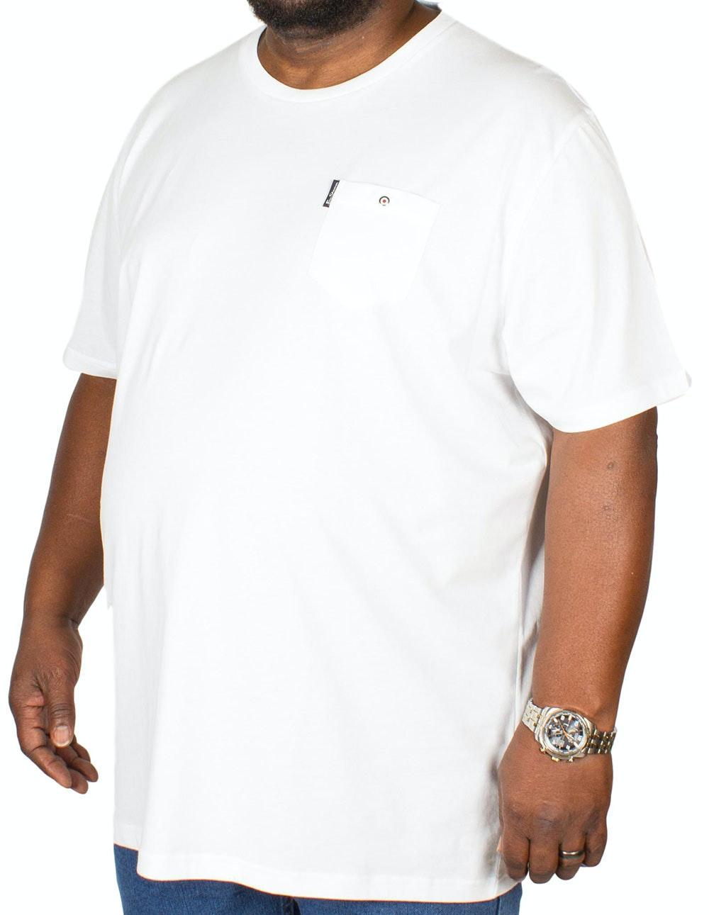 Ben Sherman Spade Pocket T-Shirt White