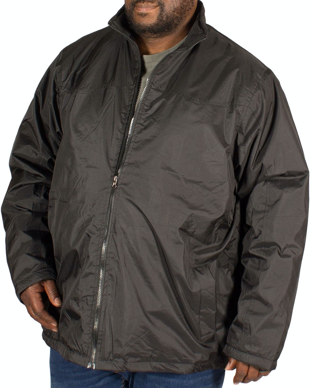 D555 Rayford Light Padded Jacket Black