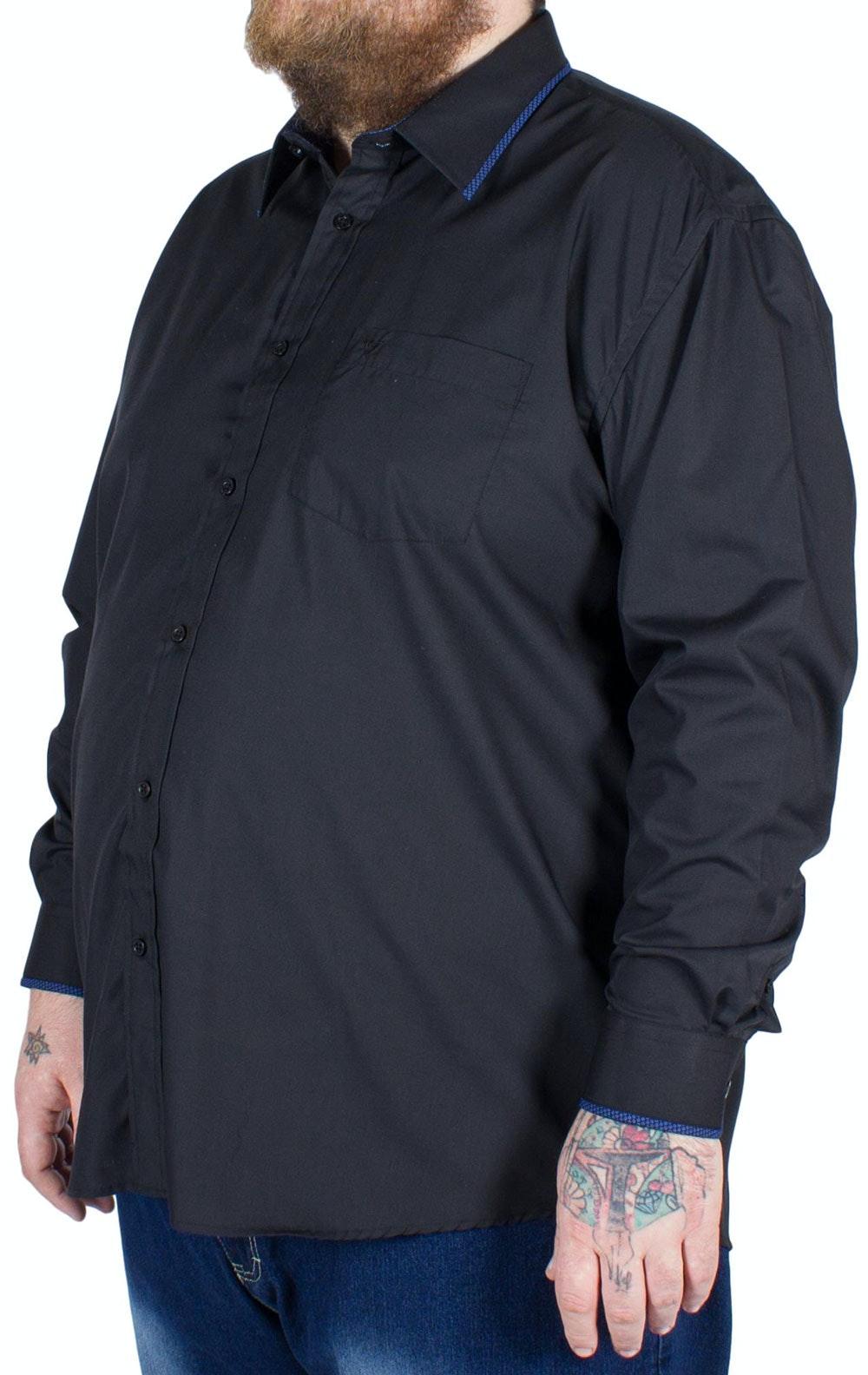 Cotton Valley Long Sleeve Shirt Black