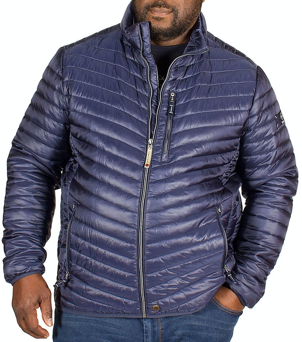 Redpoint Quilted Walker Jacket Navy