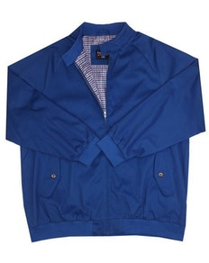 Espionage Harrington Jacket Royal Blue