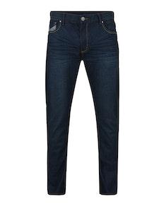 KAM Dark Resin Tint Fashion Jeans