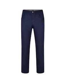 KAM Flexi Waist Chino Pants Navy
