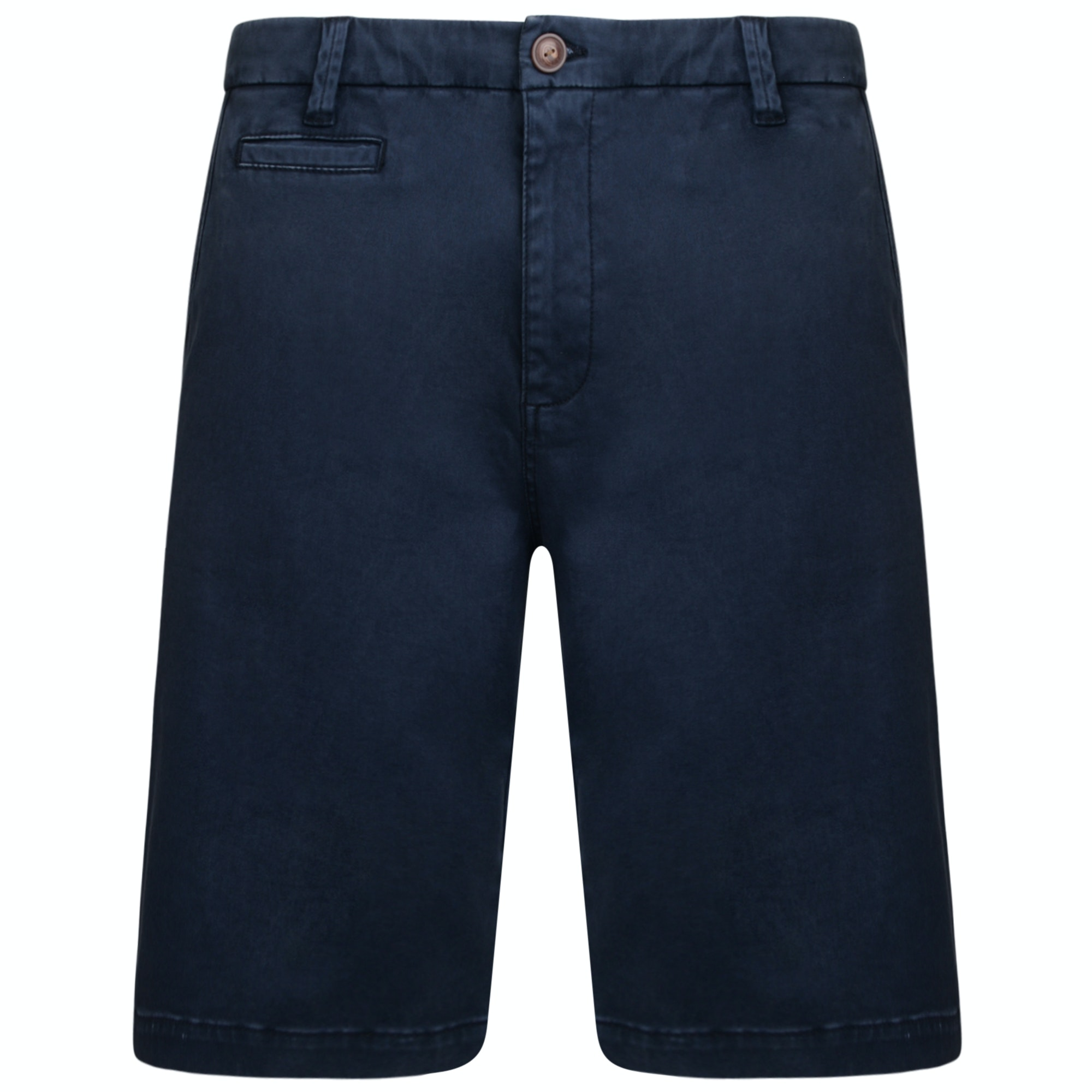 KAM Stretch Chino Shorts Navy